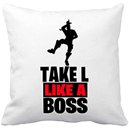 Cojín con Relleno Take L Like A Boss - Blanco, ...