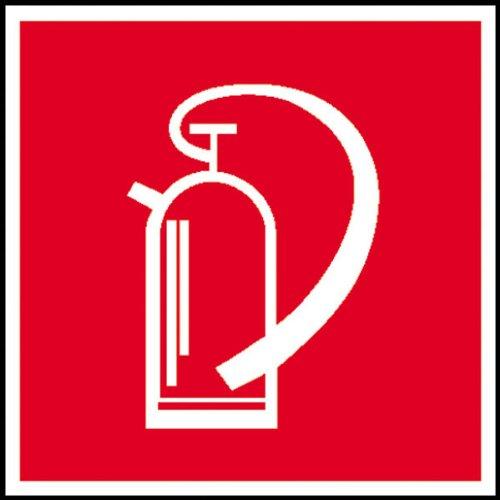 Preisvergleich Produktbild Feuerlöschgerät Brandschutzschild, selbstkl. Folie , Größe 10x10cm
