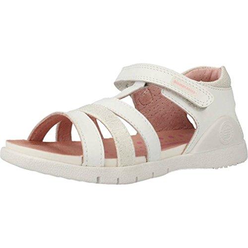 BIOMECANICS - Sandale blanche en cuir, idéale pour ramper et pour les premiers pas, Fille, Filles