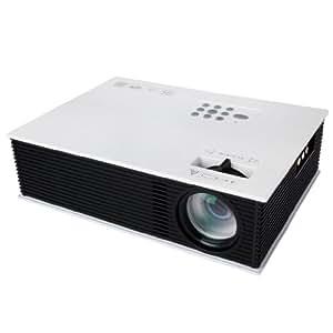 EXCELVAN® NOUVEAU HD VIDEO PROJECTEUR LED HOME CINÉMA AV / HDMI / VGA / USB / TV / IP PROJECTEUR 800*600 CONNECTER ORDINATEUR, IPAD, TÉLÉVISION, MP3 / MP4, DVD, SYSTÈME DE JEU ETC