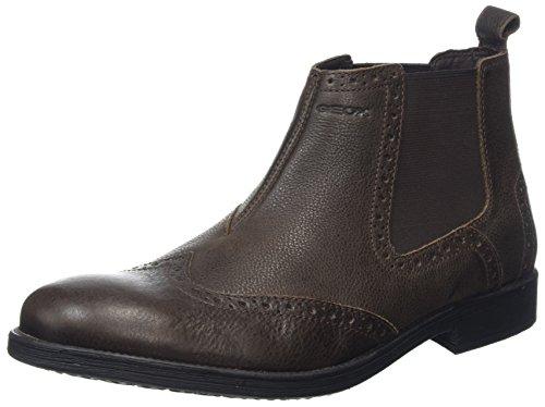 Geox Herren U Jaylon B Chelsea Boots, Schwarz (Black), 43 EU