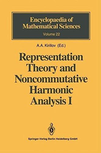 Representation Theory and Noncommutative Harmonic Analysis I: Fundamental Concepts. Representations of Virasoro and Affine Algebras (Encyclopaedia of Mathematical Sciences Book 22) (English Edition)