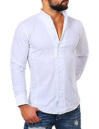 Suchergebnis auf f r hemden stehkragen bekleidung - Herren hemd ohne kragen ...
