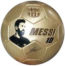 Football Club Barcelona (FCB) Messie Premium Football | Brown Colour