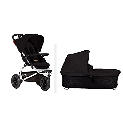 Mountain Buggy 2015 Swift Stroller With Carrycot Plus (Black) by Mountain Buggy