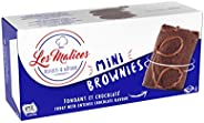 Les Malices - Mini Brownies Family Size 8 packs of 8 cakes (1920 gr) - made in France
