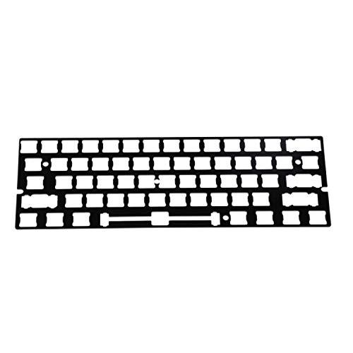 LZY Tastatur Gh60 Gk61 Rgb Hot Swap Unabhängiger Treiber Tyce-C Ansi Mechanische Tastatur Diy Kit Kunststoffgehäuse Cnc Aluminium Gehäuse Platte Pcb Super Feel,CNC Alu Kaffee,