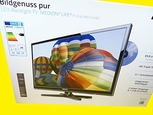 MEDION Life P12243 MD 21340 59,8cm (23,6 Zoll) Design LCD TV