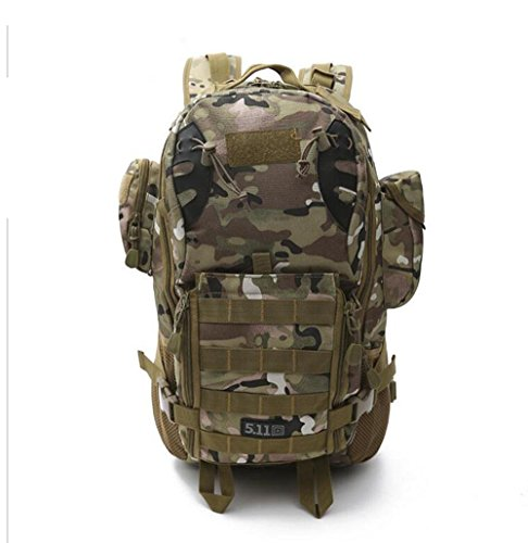 Sacchetto Di Alpinismo Esterno Sacchetto Multifunzionale Dello Zaino Del Camuffamento Che Spinge Lo Zaino Tattico 3P , Mud Color jungle camouflage