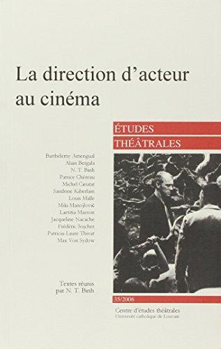 La direction d'acteurs au cinéma par ETUDES THEATRALES 35