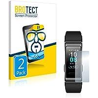 BROTECT Pellicola Protettiva Compatibile con Huawei Band 3 PRO [2 Pezzi] - HD-Clear, Ultra-Sottile, Anti-Impronte, Senza Bolle