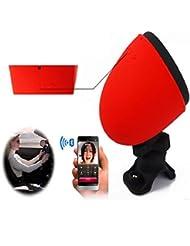OUTERDO Fahrrad Bluetooth Tragbare Lautsprecher Audio Bluetooth 4.0 Hifi-Stereo-Lautsprecher Wasserdicht Und Stoßfest