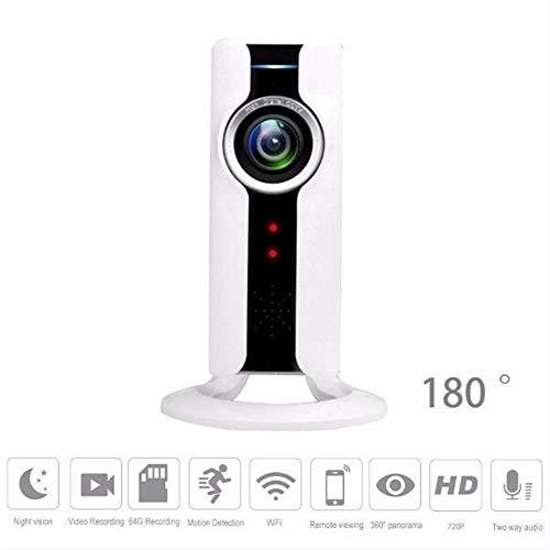 ZQG BEAUTEY 720P Webcam WiFi Heimsicherheits-Überwachung Babysitter Baby Monitor Kamera Nachtsicht...