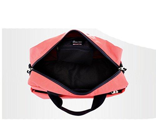 LAIDAYE Travel Duffel Bag Large Foldable Sport Und Fitness Duffle Bag Wasser-Resistant Travel Duffle Bag Mit Abnehmbarem Schultergurt Für Frauen Und Männer 4