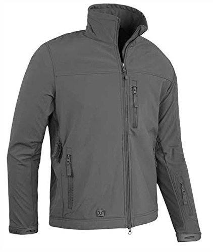 Pentagon Reiner SF Soft-Shell Jacke Level V Wolf Grau, Grau, L Herren Shell Jacken