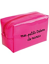 """Pochette Trousse maquillage """"mes petits trésors de nanas"""""""