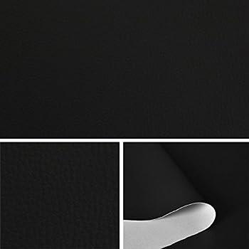 ska simili cuir couleur noir tissu au m tre tissu d 39 ameublement et d coration t073 10 amazon. Black Bedroom Furniture Sets. Home Design Ideas