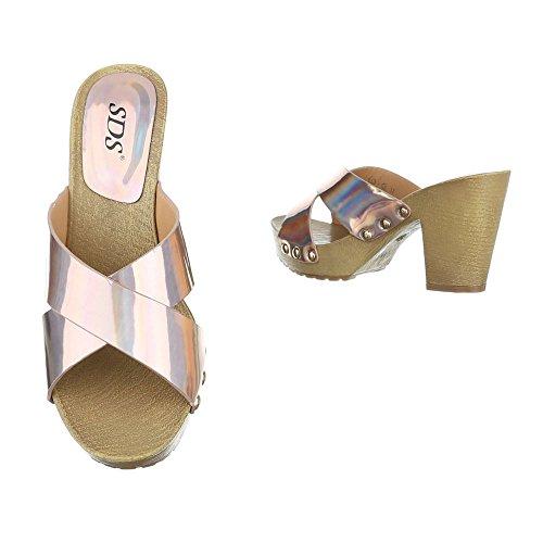 Ital-Design - Jazz & moderno Donna Champagne
