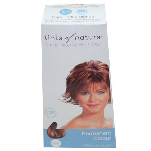 Tints of Nature Organic 6TF Dark Toffee Blonde Permanent Hair Colour 130ml by Herb Uk Ltd