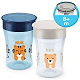 NUK Magic Cup Trinklernbecher 2er-Vorteilspack, 36…
