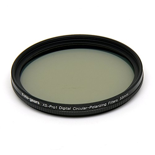 55mm MC CPL Xs-Pro1 Digital-Ultra Slim MC Multi-beschichtet CPL Zirkular-Polfilter Objektiv-Filter f¨¹r Canon Nikon Sony DSLR