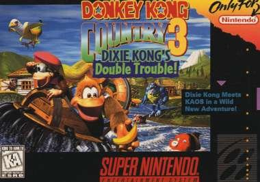 Donkey Kong Country 3 - Dixie Kong's Double Trouble! (Dixie-spiel)