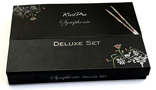 KnitPro Symphonie Holz Deluxe Set in attraktiver Box Art. 20693