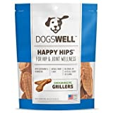 Dogswell Natural Happy Hips Joint Wellness Griller Chicken Tender Dog Treats 15z