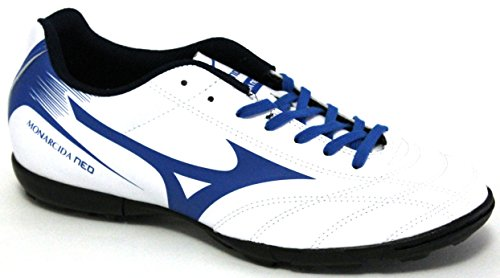Mizuno Monarcida Neo As, Chaussures de Football Homme Multicolore (White/directoireblue)