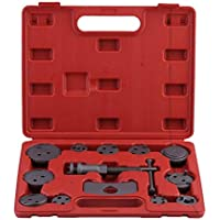 13pcs Brake Piston Juego universal car auto Disc Caliper Wind Back Brake Tool Kit Vehicles Repair Tool With Carry Case