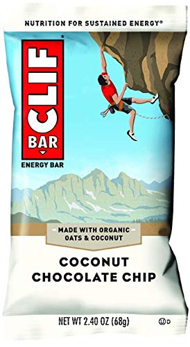 Clif Bar - Coconut Chocolate Chip, 12 Count -