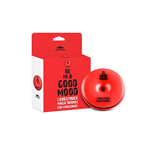 Be in a Good Mood Auto profumi - Oli Essenziali - diffusore di sfiato - eliminare Gli odori sgradevoli (Bacche di magia)