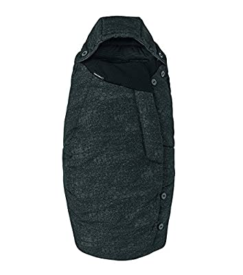 Bébé Confort Bébé Confort Saco de abrigo 'Nomad Black' - Saco de abrigo para cochecito, color negro - Saco de abrigo 'Nomad Black', Color Nomad Black
