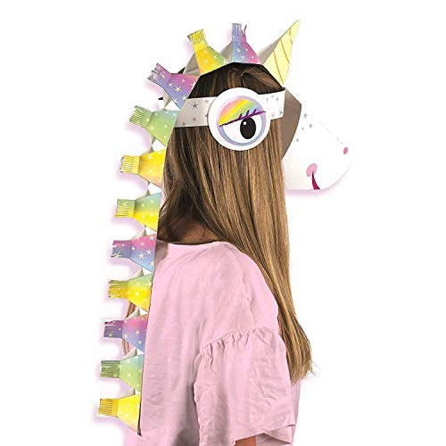 (I believe in Unicorns Make Your Own Mask Fancy Dress Head Piece)