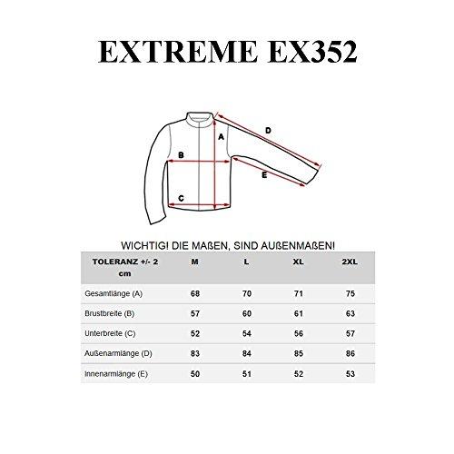 BOLF Herrenjacke Kunstleder Sweatjacke Ökolederjacke Herren Ubergangs Zipper EXTREME MIX Schwarz_EX352