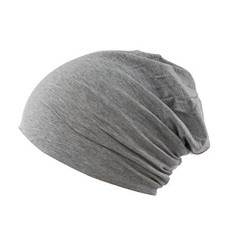 AlphaRoyal Fitness Beanie | Mütze | Herren | Damen | Unisex | Jersey | verschiedene Farben (Grau)
