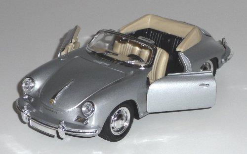 Porsche 356B Cabriolet, Spritzguß, 1:24 -