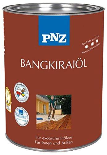 Preisvergleich Produktbild PNZ Bangkirai Öl, Gebinde:0.75L, Farbe:Naturgetönt