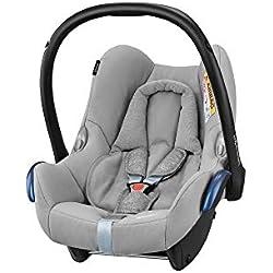 Bébé Confort Cosi Cabriofix, Siège auto Bébé Groupe 0+, Dos à la route, Naissance à 12 mois (0 à 13 kg), Nomad Grey