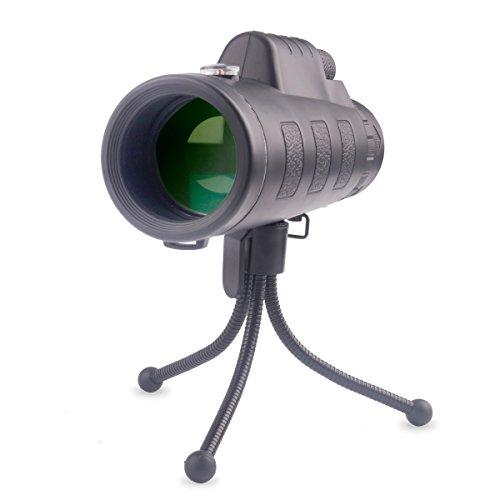 MYTK Lentille Optique Simple Agrandissement 40X60 Kit Objectif pour Smarphone avec Téléobjectif Zoom, Housse de transport et Trépied pour les Voyages/ les Loisirs/ le Sport/ les Concerts/ les Jeux