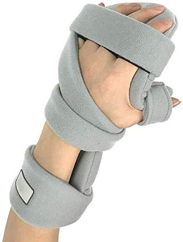 Ccom Fingerschiene Training Board, Finger Splint Griffbrett, Finger Orthesen for Schlaganfall/Hemiplegia/traumatischer Hirnverletzung 1229 (Size : Right Hand)