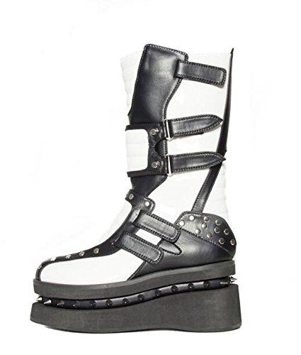 Hades Shoes, Damen Stiefel & Stiefeletten Weiß
