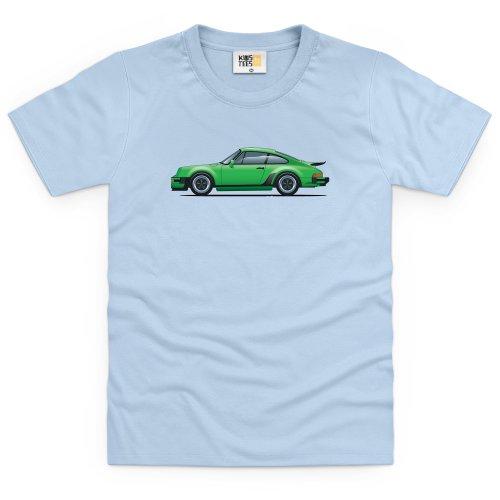 general-tee-nine-eleven-sports-car-kinder-t-shirt-kinder-himmelblau-s