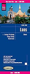 Reise Know-How Landkarte Laos (1:600.000) mit Luang Prabang, Vang Vieng, Vientiane: world mapping project
