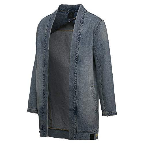 Puma x XO Denim Kimono Jeans Jacke blau Gr. M 48/50 = L 50/52 -