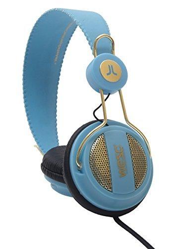 WESC Oboe Golden Headphones Blue Bell