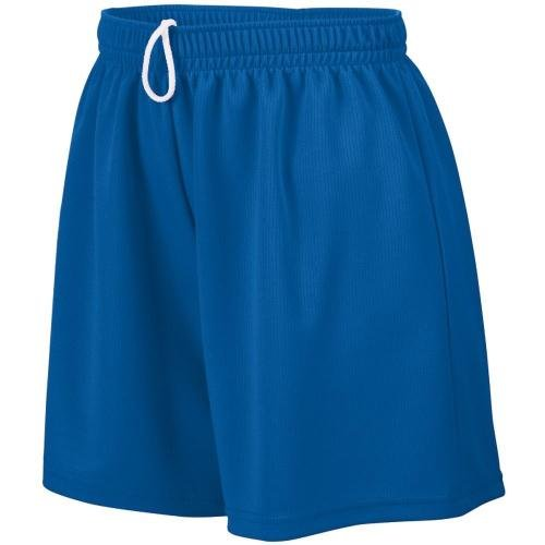 Ladies' Wicking Mesh Short ROYAL L (Mesh Augusta Wicking Mädchen)