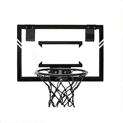 XINGLIAN Kinder Basketball-Vorstand 38x25cm Hängendes Rückenbrett Mit Frühling An Der Wand Montiert Basketballkorb Net Set Tragbar