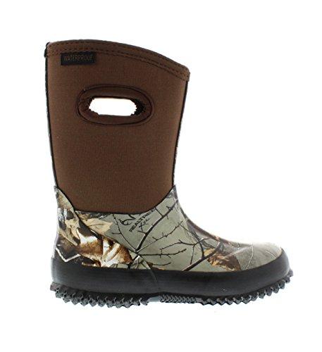 Itasca Unisex-Child Boys Girls Youth Bayou Waterproof Boot