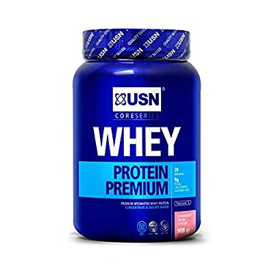 USN 100% Whey Protein Premium Muscle Development and Recovery Shake Powder from USN